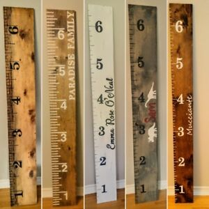 Personalized Growth Chart Rulers.