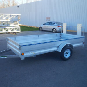 Utility Trailer 5' x 10' with fold down front gate