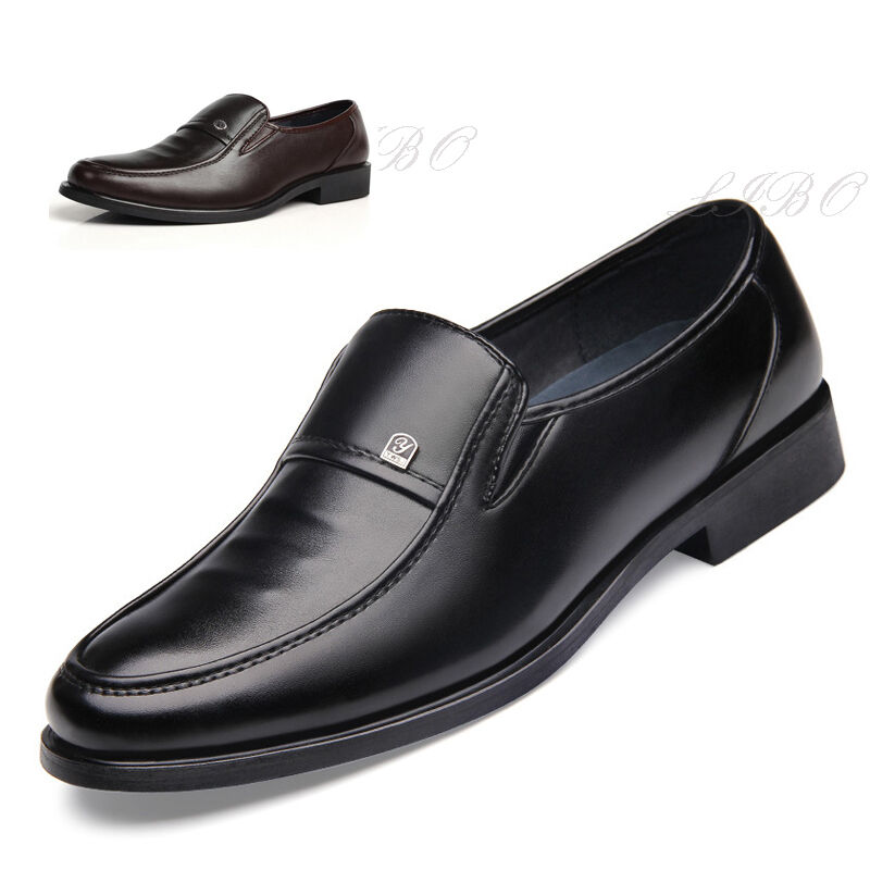 Men Comfort Loafers Driving Shoes Business Dress Formal Oxford Slip On Moccasin