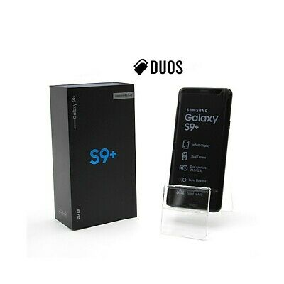 "SMARTPHONE SAMSUNG GALAXY S9 PLUS DUOS 256GB BLACK 6,2"" DUALSIM G965FD G965F-"