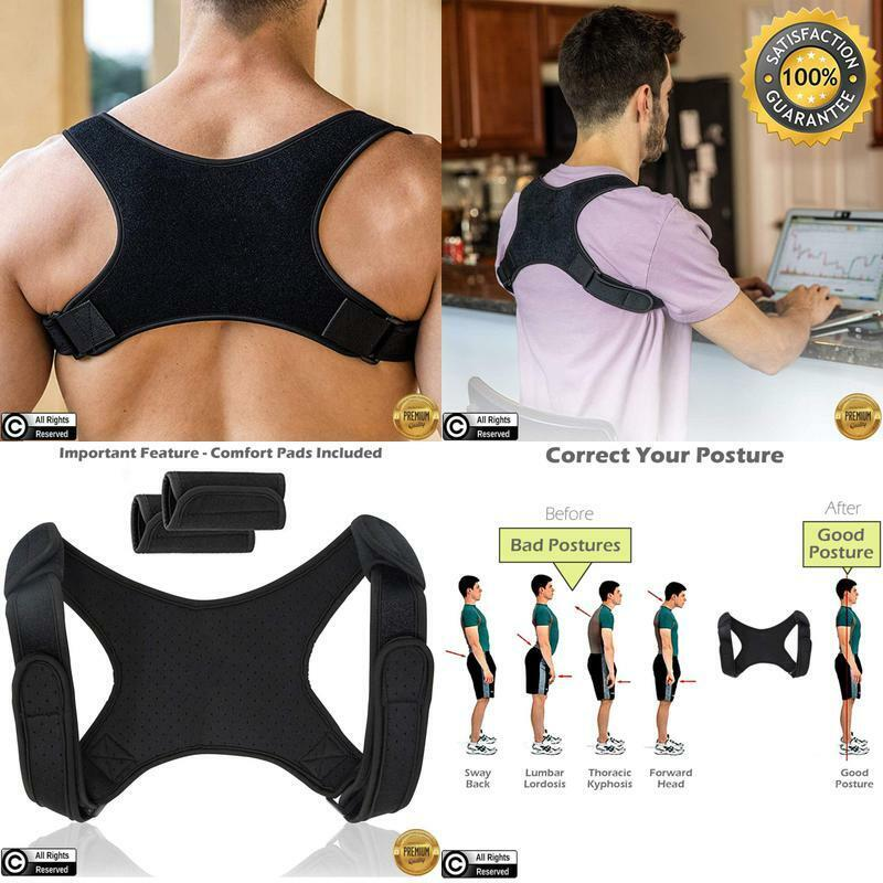 Posture Corrector For Men And Women | Discreet Under Clothes