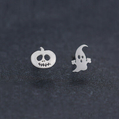 1Pair Fashion Women Earring Pumpkin Halloween Ghost Ear Stud Earrings Jewelry - Halloween Earrings