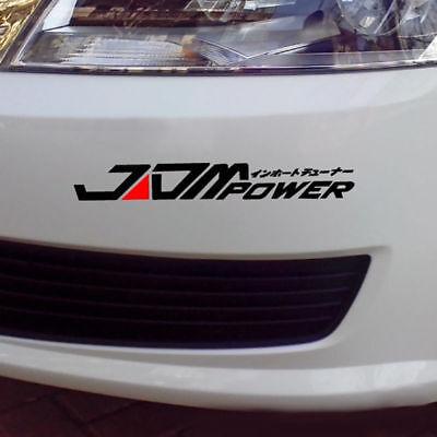 JDM POWER Auto Aufkleber Stoßstange Für Toyota Honda Mitsubishi (Mitsubishi Auto Aufkleber)