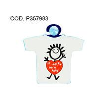 Mini T-shirt Con Ventosa Auto Scritta Simpatica Papa' Auguri Festa Compleanno -  - ebay.it
