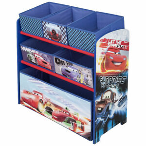 Delta Disney Pixar Cars Multi-Bin Organizer, New