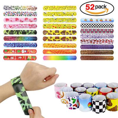 Silicone Slap Bracelet for Boys & Girls Birthday Party Supplies Favors (52 - Birthday Party Favors For Boys