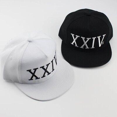 Mens Bruno Mars Xxiv K 24K Magic Adjustable Hip Hop Snapback Hat Baseball Caps