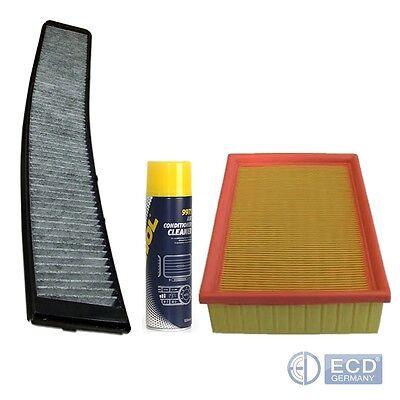 Innenraumfilter Pollenfilter Aktivkohle Luftfilter BMW 3er E46 + Klimareiniger online kaufen