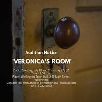 "10th. ANNIVERSARY SEASON - AUDITION FOR ""VERONICA'S ROOM"""