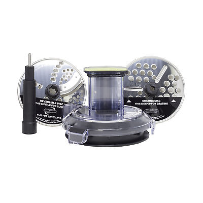 Ninja Cookhouse Auto-IQ BL492 Compact Blender Food Processor Chute Locking Lid