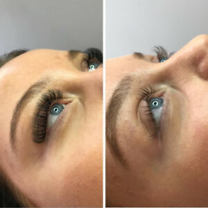 EYELASH EXTENSIONS- luxury lashes downtown