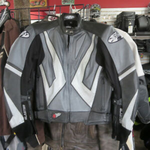 Joe Rocket Blaster Leather Motorcycle Jacket RE-GEAR Oshawa
