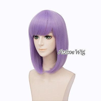 e Hotaru Cosplay Perücke Wig 35cm Hell Lila Anime Girls Haar (Hell-lila Perücke)