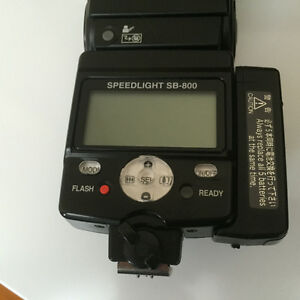 Nikon SB-800 Speedlight Flash.