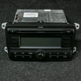 Skoda fabia mk2 2007/2014 original stereo cd player