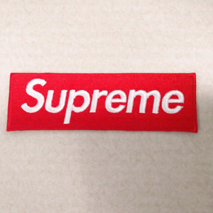 Supreme logo patch $10 Iron on heat transfer
