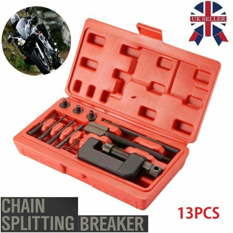 Bergen Chain Breaker and Riveting Set 520-532 Motorcycle Link Splitter AT950