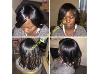 AFRO HAIRDRESSER HAIR DRESSER (CROCHET BRAIDS, WEAVES, STYLING & FRINGE CUT) Adult& Kids