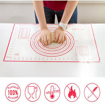 NonStick Baking Mat Pizza Dough Roller Maker Pastry Kitchen Gadgets Cooking Tool