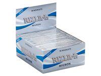 Rizla silver micron thin 50 booklets