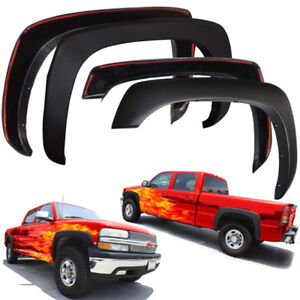 NEW OE OEM Type 4pcs SMOOTH Wheel Fender Flares (Matte Black)