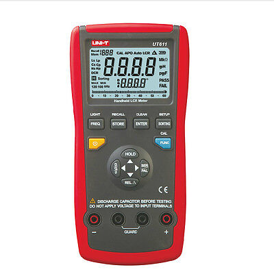 Uni-t Ut611 Digital Lcr Meter Analog Inductance Capacitor Ohm Frequency Tester