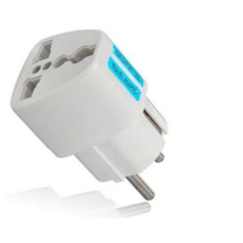Universal AU UK US to EU AC Power Socket Plug Travel Charger Adapter Converter Q