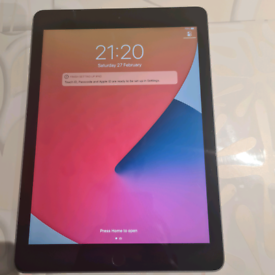 Ipad 5th generation wifi excellent condition fully working