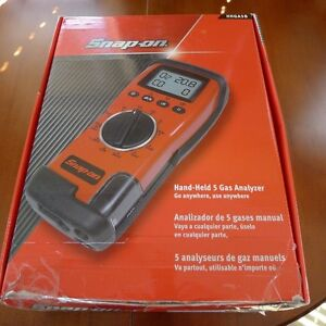SNAP-ON 5 GAS ANALYZER WITH BLUE TOOTH & INFRARED PRINTER