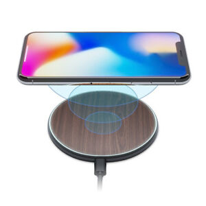 iPhone X/8 Qi Wireless Charger Pad Kit by New 2018 Upgraded | St