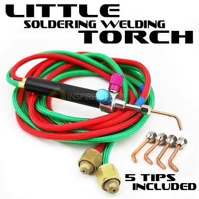 Little Torch Soldering Kit Welding Oxygen Acetylene Gas 6300°F Multi-Function