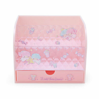 Little Twin Stars Cosmetics Rack S Pink Storage case Sanrio Kawaii 2021 NEW