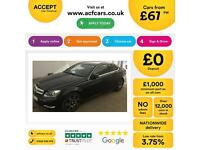 Mercedes-Benz C180 AMG Sport FROM £67 PER WEEK!