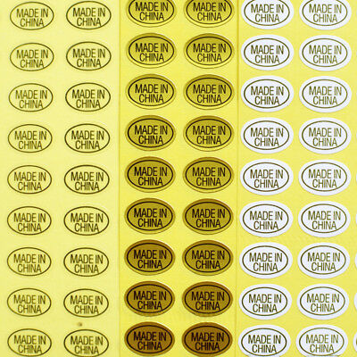 15 Sheets 2700pcs Stickers Made In China Sticky Self Adhesive Business Label Tag