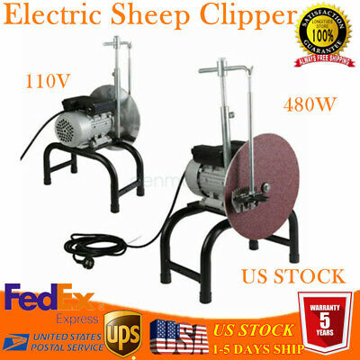 Electric Sheep Clipper Blade Sharpener Wool Scissors Grinding Machine Farm Shear