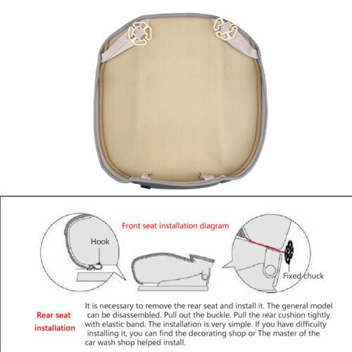 Universal Auto Car Chair Cushion 3D Car Seat Cover PU