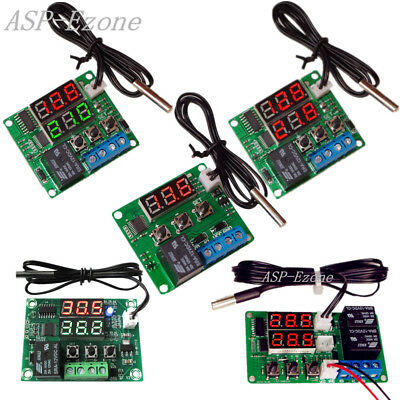 Thermostat Switch Miniature Plate High-precision Digital Temperature Controller