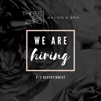West Side Salon & Spa Hiring P/T Receptionist