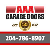 Over 50 years in Business WPG's Garage Specialists! 204-786-8907