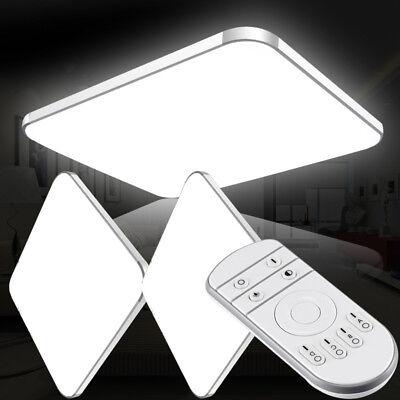 Eisen Bad Lampe (LED Deckenleuchte Deckenlampe 16W-96W Wohnzimmer Badleuchte Dimmbar Küchen Lampe)