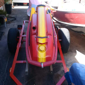 REDUCED!! 1989 Kawasaki JS300 Stand up   Jet Ski Rebuilt