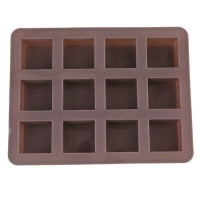 Chocolate Cookie Mold Square Silicone Cake Mold Candy Mould Bakeware Safe Clean
