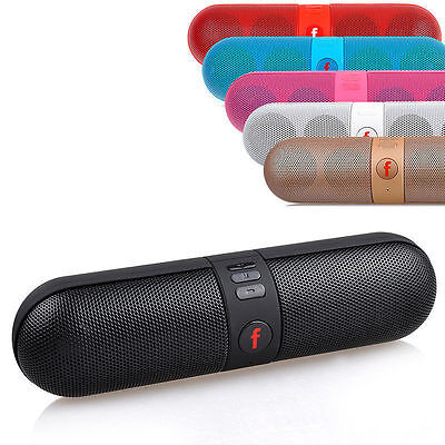 Mini Bluetooth Wireless Speaker Portable Super Bass For Smartphone Tablet MP3 PC