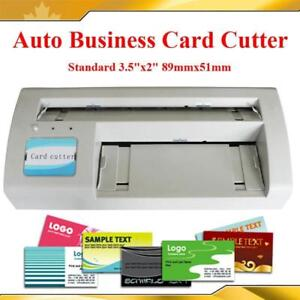 Slitter kijiji in ontario buy sell save with canadas 1 full bleed business name card paper cutter slitter 120052 reheart Gallery
