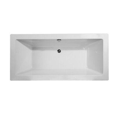 Dyconn Faucet WTM02502-S Urbino  Freestanding Contemporary Acrylic Bathtub