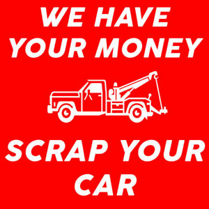 LOCAL SCRAP JUNK CAR PICK-UP IN BARRIE 705-300-2350