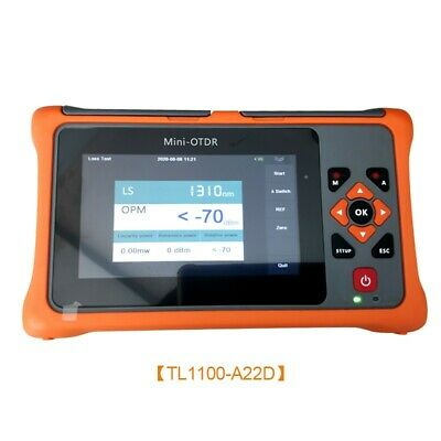 TL1100-A22D 1310/1550NM 22/20DB OTDR Tester Optical Time Domain Reflectometer ts