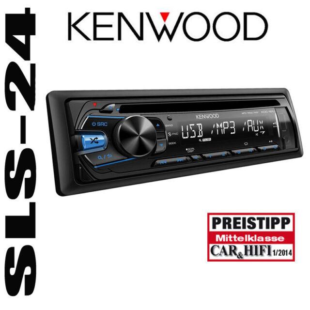 Kenwood KDC-364U Radio CD Front-USB-Aux-in iPod MP3 Autoradio Nachfolger KDC-361