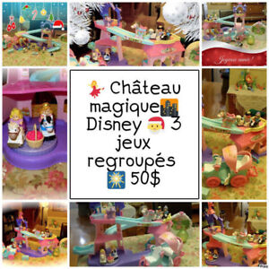 Little People| Château | Carrosse | Tonnelle |  18 mcx 50$