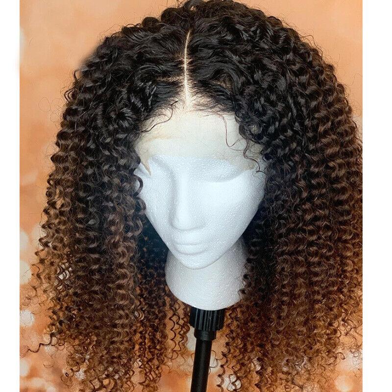 9A 100% Real Virgin Malaysian Human Hair Lace Front Wigs Kin